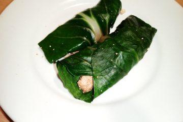 Involtini di biete e tofu